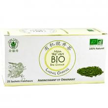 Thé vert bio Lung Ching 50g Fine Tonic