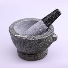 Mortier et pilon en pierre
