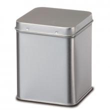 Boîte à thés en métal argenté - 100g