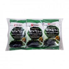 Snack algues grillées épicées - Pack de 3 x 4.5g