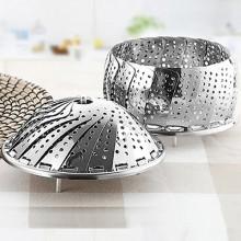 Panier cuisson vapeur pliable Metaltex