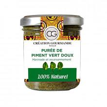 Purée de piment vert doux 100% naturel-Senea Food-100g