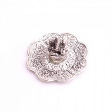 Porte-encens argenté ganesh (dieu hindou)