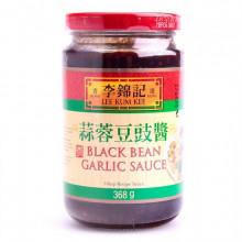 Sauce à l'ail au soja noir 368g