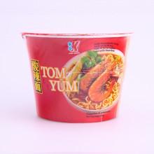 Soupe nouilles saveur Tom yum en bol 120g