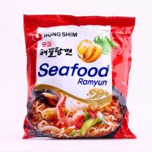 Soupe de nouilles saveur fruits de mer 125g