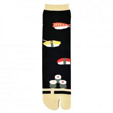 Chaussettes tabi sushi noires