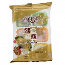 Assortiment de mochis ( Haricot rouge, taro et thé vert ) 210g Taiwan Dessert