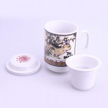 Tasse de thé signe chinois lapin