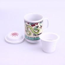 Tasse de thé signe chinois serpent