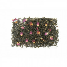 Thé vert à la rose 100g