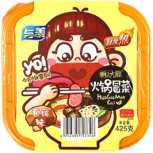 Fondue chinoise auto-chauffante Végétarienne saveur champignons -Huo Guo Mao Cai-425g