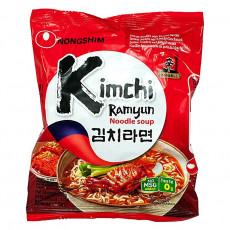Carton de 20 Soupe nouilles saveur kimchi  Nongshim 120g