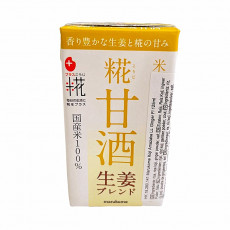 "Boisson de riz saveur gingembre ""Amazake Koji""  - Marukome - 125ml"