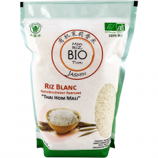 Mon riz blanc Bio Thai parfum Jasmin Thai Hom Mali 5kg