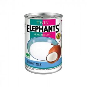 Lait de coco allégé 400ml Twin Elephants