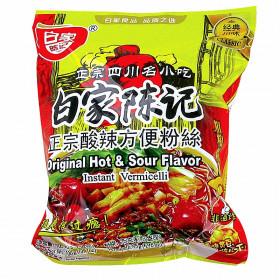 Soupe de vermicelles de patate douce saveur acidulé et pimenté Baijia 105g