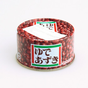 Azukis (soja rouge) bouillie 430g