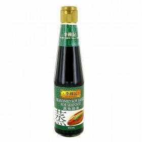 Sauce soja assaisonnée pour les fruits de mer Lee Kum Kee 410ml