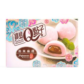 Gâteau fourré mochi taro Taiwan dessert 210g