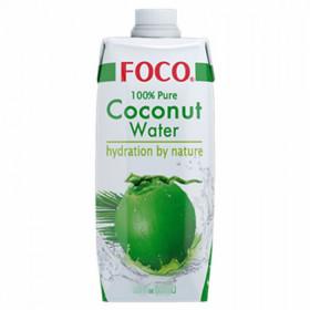Eau de noix de coco 100%- Foco- 330ml