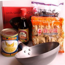 Kit wok avec feuille de recette