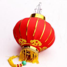 Lanterne chinoise rouge doré