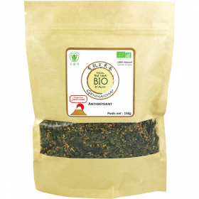 Genmaicha (thé vert grillé aux riz) BIO - Fine Tonic - 150g