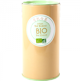 Mon thé blanc Bio de Chine 60g Fine Tonic