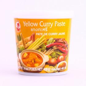 Pâte de curry jaune 400g