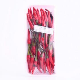 Petit piments oiseaux rouges frais 100g