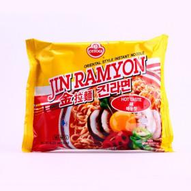 Soupe de nouilles saveur épicé (Jin Ramyun) 120g