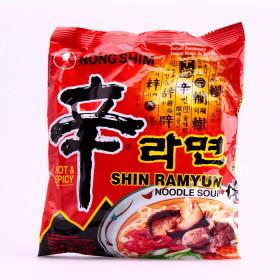 Soupe de nouilles saveur épices (Shin Ramyun) 120g