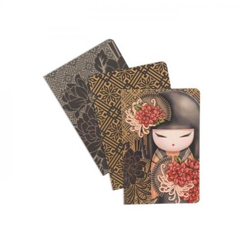 "3 cahiers kimmidoll ""TATSUYO"" - DETERMINATION"