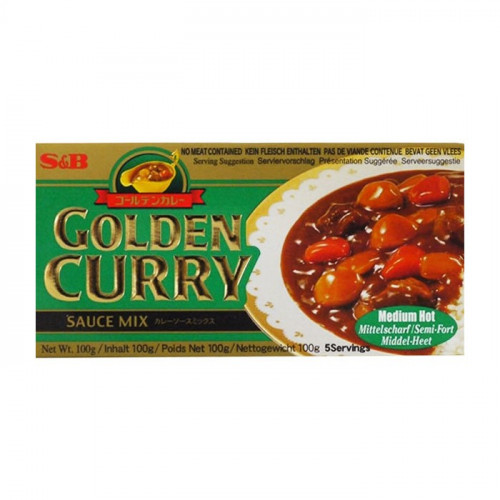 Curry japonais medium Hot 240 g