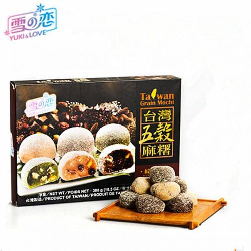 Mochi au 5 céréales goût mixe 12 pièces 300g