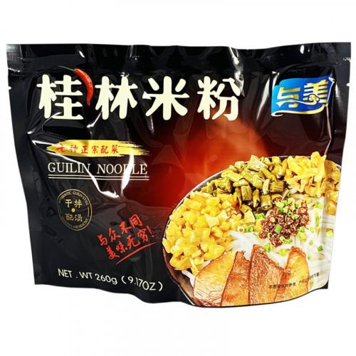 Nouilles instantanées de Guilin de tapioca 260g