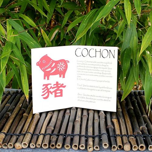 Livret signe du Zodiac du Cochon