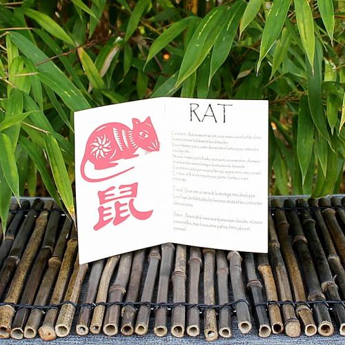 Livret signe du Zodiac du Rat