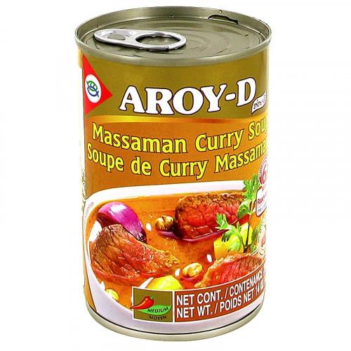 Soupe de Curry Massaman Aroy-D 400g