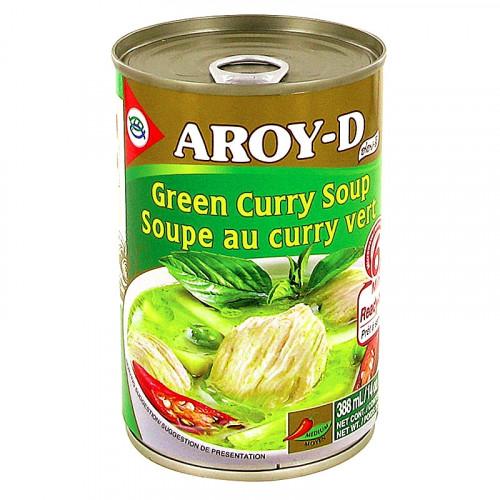 Soupe de Curry vert Aroy-D 400g