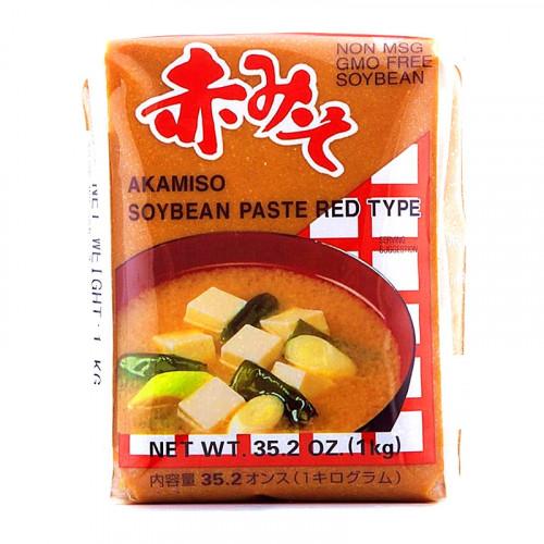 Aka miso (pâte de haricots de soja rouge) sans MSG 1kg JFC