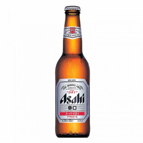 Bière Ashai super dry 5° en bouteille 330ml
