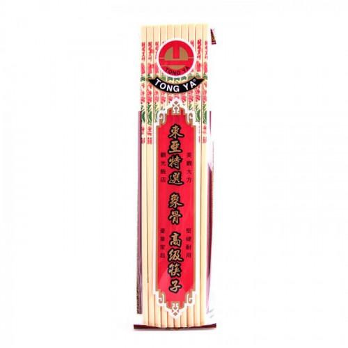 Baguettes en bambou véritable 10 paires