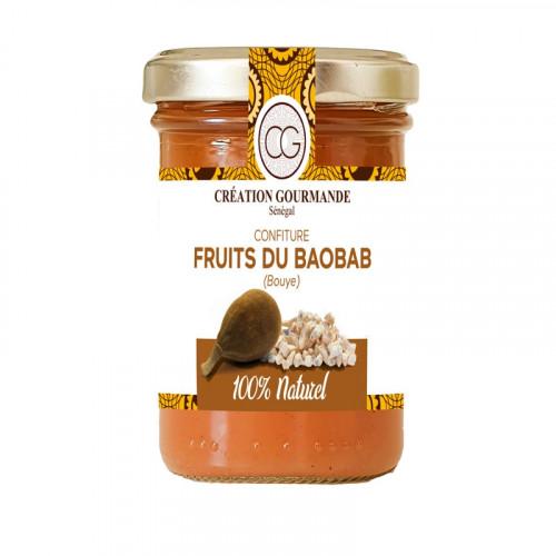 Confiture du Baobab (Bouye) sans colorant ni conservateur et sans arôme artificiel 200g