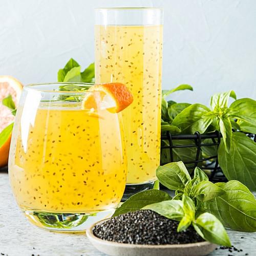 Boisson aux graines de basilic saveur ananas Vinut 290ml
