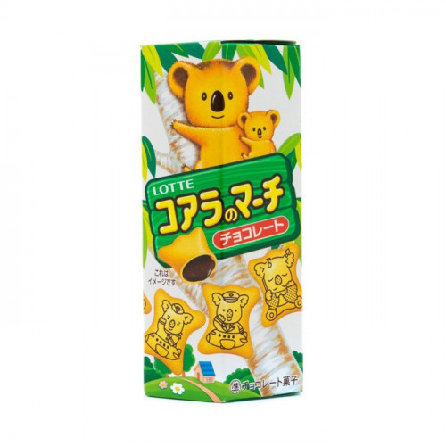 Biscuits Koala fourrés au chocolat, Lotte, 50 g