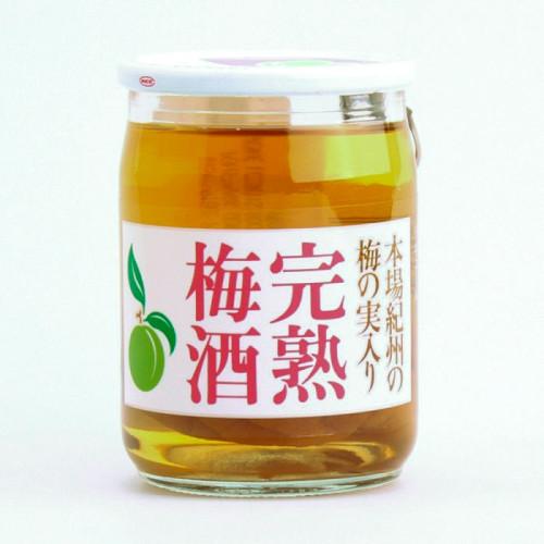 Boisson alcoolisée avec prunes japonaises ( umébosis )entières 100ml