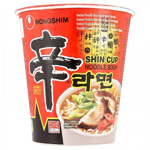 Soupe de nouilles instantanée en bol Shin Ramyum 68g