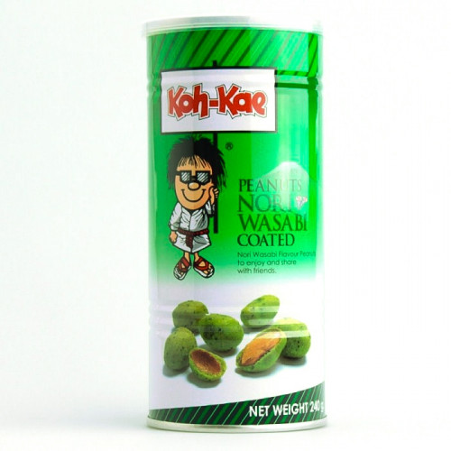 Cacahuète au wasabi avec algue nori 240g